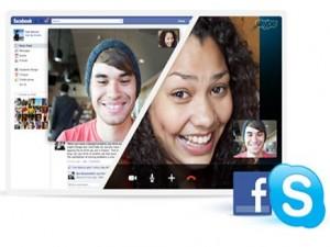 فيسبوك وسكايب