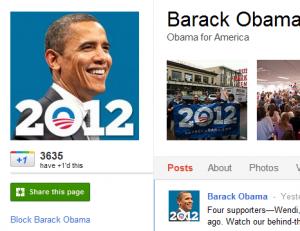 أوباما وجوجل بلس