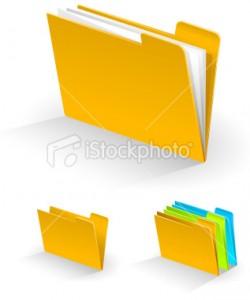 مجلدات وملفات