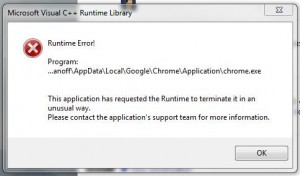 Google-Runtime-Error
