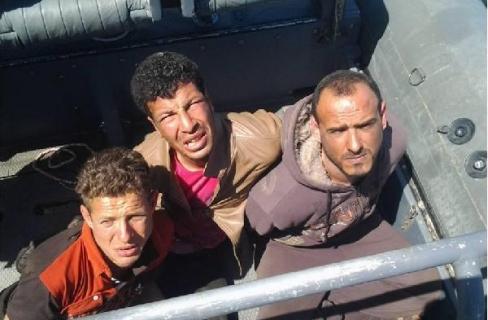 المتهمون بقطع الكابل البحري في مصر