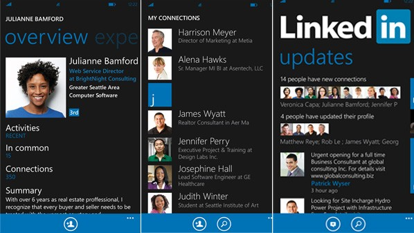 linkedIn-windows8