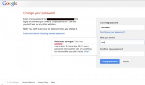 google-password-change