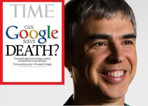 جوجل وابحاث اطالة العمر