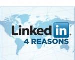 4, اسباب, انشاء, حساب, LinkedIn