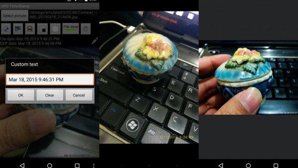 تطبيق اضافة لتاريخ على الصور, تطبيق اضافة الوقت على الصور, كيف يمكن اضافة التاريخ على الصور