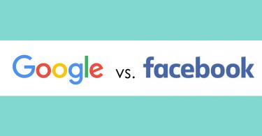 جوجل وفيسبوك